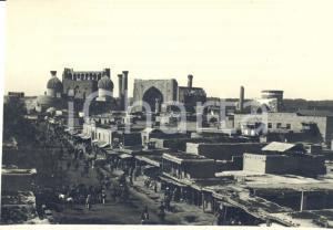 1935 ca SAMARCANDA (UZBEKISTAN) Veduta generale - Foto ANIMATA 14x11 cm