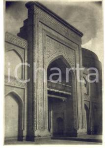 1935 ca SAMARCANDA ? (UZBEKISTAN) Veduta di antica moschea - Foto 11x16 cm