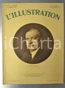 1932 L'ILLUSTRATION Obsèques André MAGINOT - Fouilles en Albanie *Journal n°4637