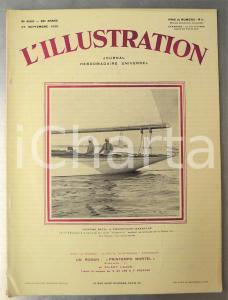 1930 L'ILLUSTRATION Coup d'État en Argentine - Météo pour Paris-New York aérien