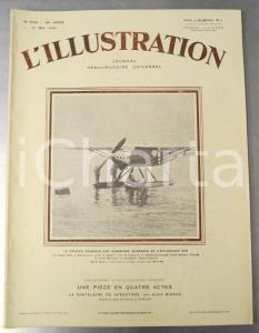 1930 L'ILLUSTRATION Courrier par hydravion LATE 28-3 - Roi de SIAM en Indochine