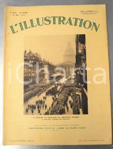 1932 L'ILLUSTRATION Obsèques Paul DOUMER - Le président Albert LEBRUN