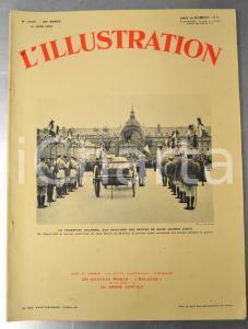 1931 L'ILLUSTRATION Chefs de la Grande Guerre inhumés aux Invalides - Journal