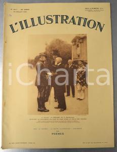 1931 L'ILLUSTRATION Défilé troupes 14 Juillet - Cimetière français Williamsbourg