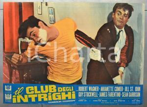 1967 IL CLUB DEGLI INTRIGHI Robert WAGNER Guy STOCKWELL Fotobusta 66x46 cm