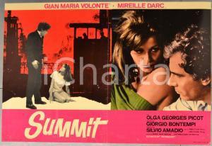 1968 SUMMIT Gian Maria VOLONTÉ Mireille DARC Giorgio BONTEMPI Fotobusta 66x46cm