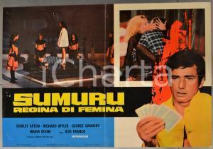 1969 SUMURU REGINA DI FEMINA Shirley EATON Jesús FRANCO - Fotobusta 66x46cm