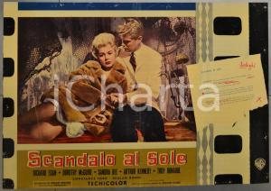 1960 SCANDALO AL SOLE - SUMMER PLACE Sandra DEE Richard EGAN - Fotobusta 66x46cm