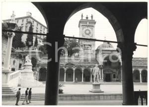 1979 UDINE PIAZZA DELLA LIBERTÀ Porticato di San Giovanni e torre dell'orologio