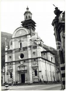 1977 TIRANO Facciata rinascimentale del Santuario della Madonna di Tirano *Foto