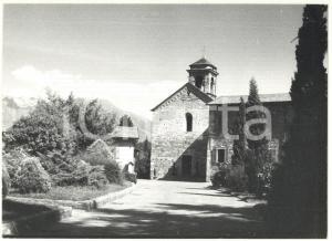1979 COLICO (LC) Veduta sull'abbazia cistercense di Piona *Foto 18x13 cm