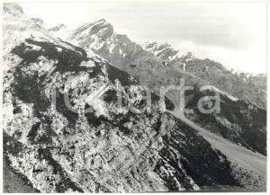 1977 LIVIGNO (SO) Veduta panoramica delle cime dal Lago del Gallo *Foto 18x13 cm