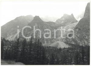 1976 VALLE D'AOSTA - MONTE BIANCO Ghiacciaio della BRENVA Veduta panoramica (1)