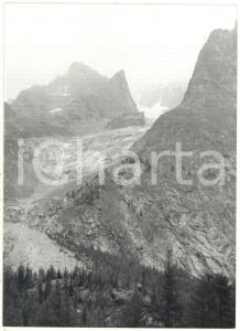 1976 VALLE D'AOSTA - MONTE BIANCO Ghiacciaio della Brenva - Veduta panoramica