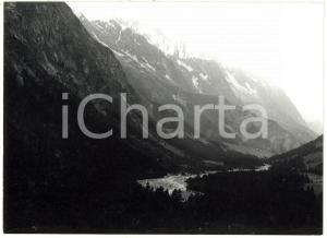 1978 VAL VENY (AO) Veduta panoramica del massiccio del Monte Bianco *Foto 18x13
