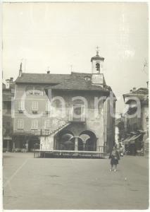 1972 ORTA SAN GIULIO Piazza Mario MOTTA - Palazzo della Comunità *Foto 13x18 cm