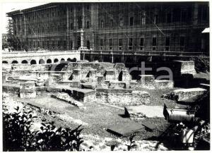 1978 TORINO Via XX Settembre - Veduta dei resti archeologici del teatro romano