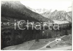 1980 SIMPLON / CANTONE VALLESE (CH) Veduta panoramica del paese *Foto 18x13 cm