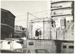 1979 CIVITAVECCHIA - Scorcio della Porta Livorno *Fotografia 18x13 cm