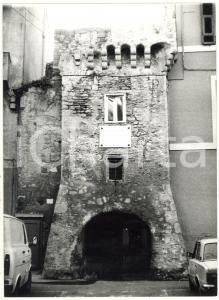 1979 CIVITAVECCHIA Veduta sull'Archetto di accesso a Piazza Leandra *Foto 13x18