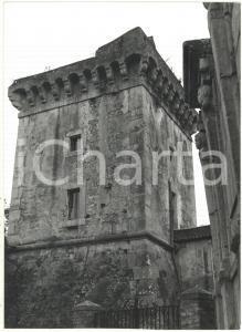 1981 TERRACINA (LT) - Veduta della Torre dell'Epitaffio *Fotografia 13x18 cm