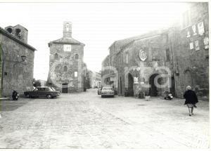 1980 SORANO / SOVANA Piazza del Pretorio - Palazzetto dell'Archivio *Foto 18x13