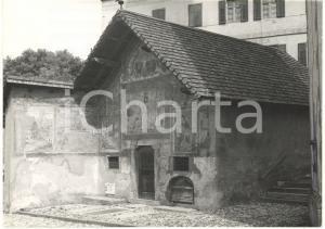 1979 TESERO (TN) Veduta esterna della cappella di San Rocco *Fotografia 18x13 cm