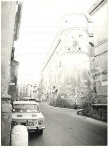 1979 CIVITAVECCHIA Veduta del Bastione delle mura medievali *Fotografia 13x18 cm