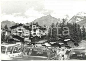 1980 SAAS-FEE (CH) Veduta degli hotel