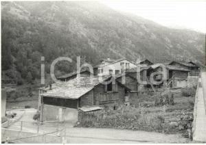 1980 EISTEN - CANTON VALLESE (CH) Veduta panoramica del paese *Foto 18x13 cm