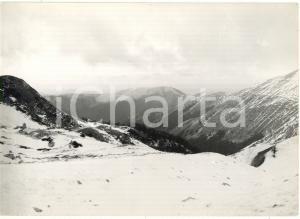 1976 MONTE TERMINILLO (RI) Veduta panoramica delle cime innevate *Foto 18x13 cm