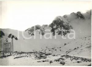 1976 MONTE TERMINILLO (RI) Indicazioni per il Rifugio Sebastiani CAI *Foto 18x13