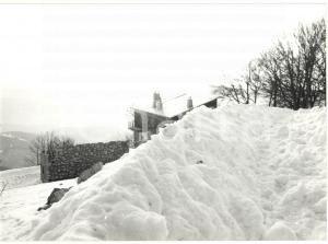 1977 MONTE TERMINILLO (RI) Veduta panoramica con la neve *Fotografia 18x13 cm