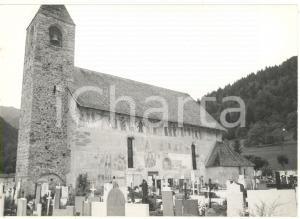 1979 PINZOLO (TN) Veduta del cimitero e della chiesa di San Vigilio *Foto 18x13