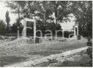1981 BENE VAGIENNA Scavi archeologici - Resti del teatro romano *Foto 18x13 cm