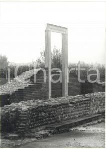 1981 BENE VAGIENNA Scavi archeologici - Resti del teatro romano *Foto 13x18