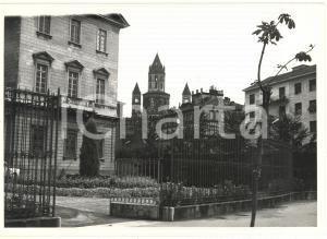 1972 VERCELLI Piazza Sant'Eusebio - Scorcio del campanile di Sant'Andrea *Foto