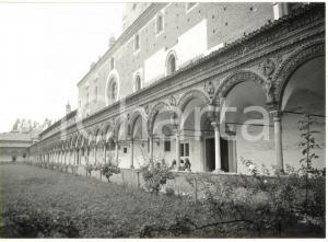 1976 CERTOSA DI PAVIA - Veduta del portico del chiosco grande *Fotografia 18x13