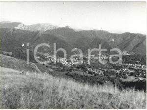 1980 PIAN DEL TIVANO (CO) Veduta panoramica della Grigna *Fotografia 18x13 cm