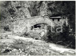 1976 ORRIDO DI PRÉ-SAINT-DIDIER - Il ponte romano sulla Dora Baltea *Foto 18x13