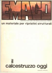 1977 CALCESTRUZZO OGGI Emaco materiale per ripristini strutturali *Vol. 9 n° 2