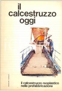 1978 IL CALCESTRUZZO OGGI - Prefabbricati IPRES - Rivista vol. 10 n° 1