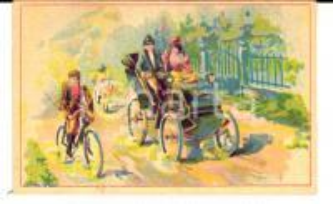 1900 ca CAMBRAI Maison Paul MAIRESSE - Chicorée à la française - Figurina