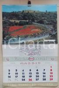 1960 ESSO Calendario illustrato dedicato allo sport *Pubblicitario 34x27 cm