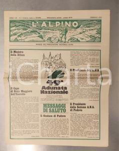 1976 L'ALPINO 49^ Adunata Nazionale a Padova - Mensile ANA anno LVII n° 2