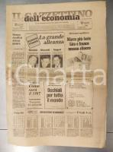 1987 IL GAZZETTINO DELL'ECONOMIA Il patto triveneto - Giornale anno I n° 1