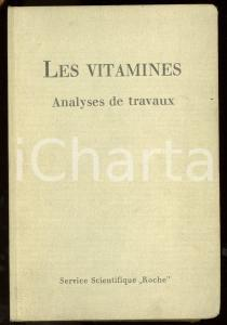 1943 LES VITAMINES Analyses de travaux *Service scientifique ROCHE - Fasc. 1-9