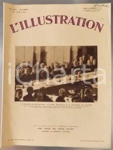1932 L'ILLUSTRATION La Conférence de Lausanne *Rivista ILLUSTRATA - N° 4660