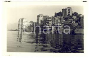 1950 ca GENOVA PEGLI Veduta con il Castello VIANSON - Foto VINTAGE 14x9 cm