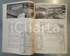 1945  ZURICH Schulhaus Kornhausbrücke - Architekt BSA A.H. Steiner - 6 pp.
